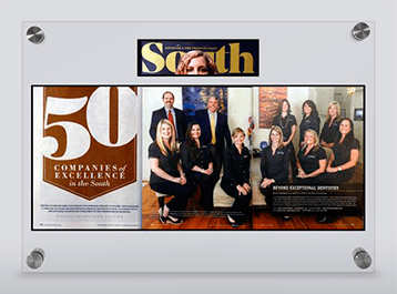South Magazine Best of post on Beyond Exceptional Dentistry