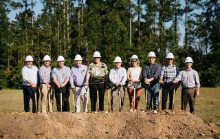 Dr. Strickland at Hilton Head Christian Academy Groundbreaking. On May 16, 2019, over 400 people attended the official groundbreaking for the new HHCA campus in Bluffton. The 27.7 acre campus is located off Masters Way near Bluffton Parkway.